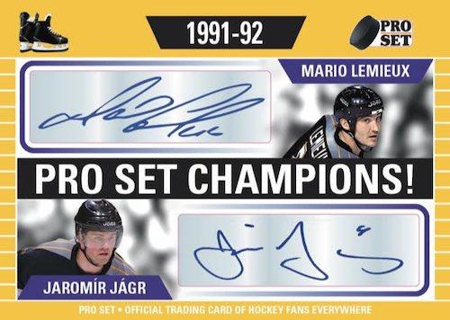 2020-21 Pro Set Memories Hockey Cards 5