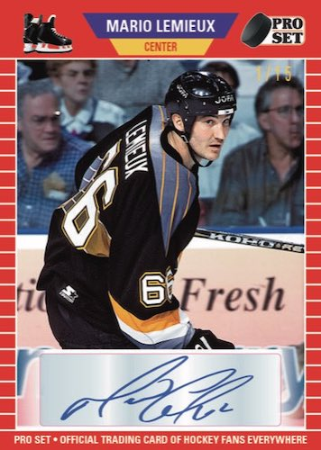 2020-21 Pro Set Memories Hockey Cards 4