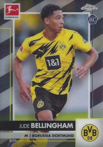 2020-21 Topps Chrome Bundesliga Soccer Cards 3