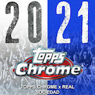 2020-21 Topps Chrome X Real Sociedad Soccer