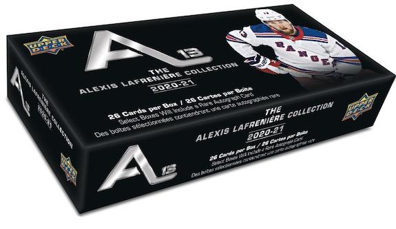2020-21 Upper Deck Alexis Lafrenière Collection Hockey Cards 5