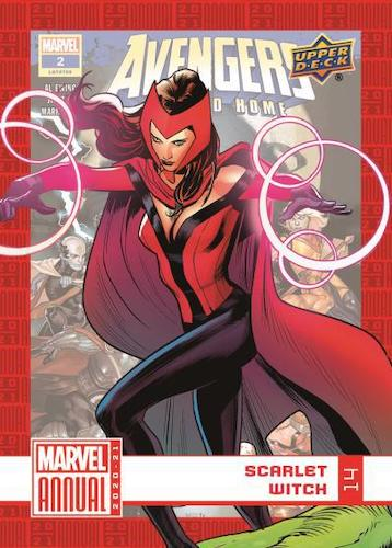 2020-21 Upper Deck Marvel Annual Trading Cards 1