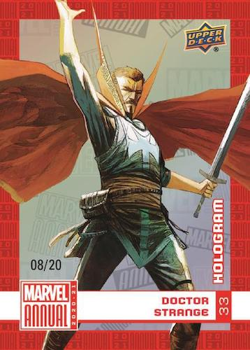 2020-21 Upper Deck Marvel Annual Trading Cards 3