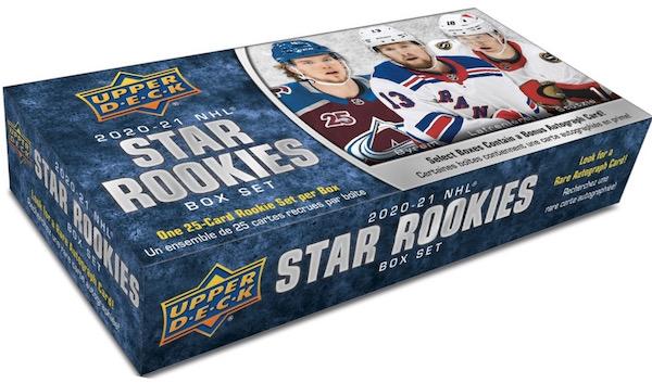 2020-21 Upper Deck NHL Star Rookies Box Set Hockey Cards 1