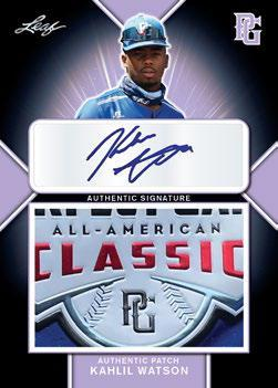 2020 Leaf Metal Perfect Game All-American Classic Baseball Cards 2
