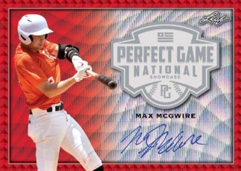 2020 Leaf Perfect Game National Showcase Baseball Cards 3