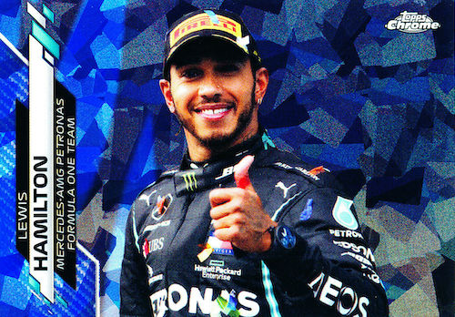 2020 Topps Chrome Sapphire Edition Formula 1 Racing Cards 3