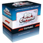 2020 Topps Chrome Sapphire Edition Formula 1 Racing Cards