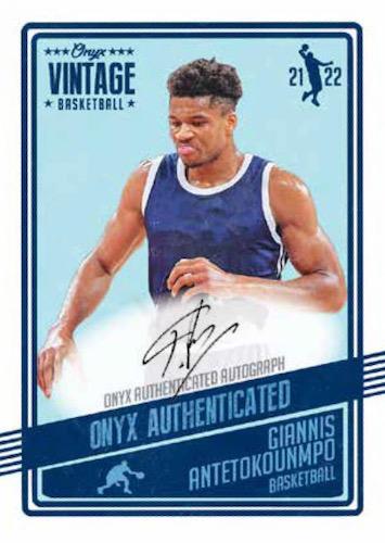 2021-22 Onyx Vintage Basketball Cards - Checklist Added 4
