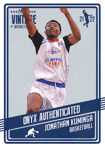 2021-22 Onyx Vintage Basketball Cards - Checklist Added 3