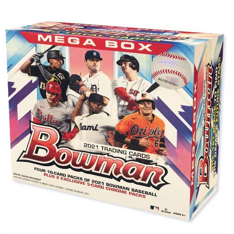 2021 Bowman Mega Box Chrome Baseball Cards 5