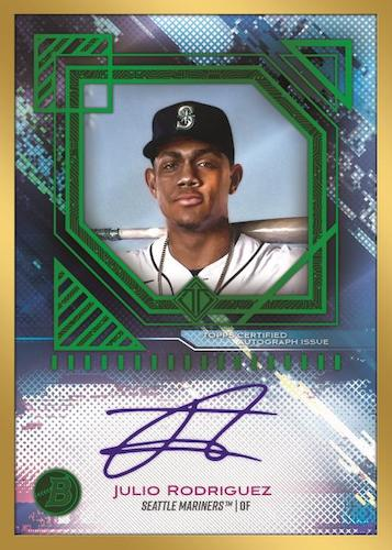 2021 Bowman Transcendent Collection Baseball Cards 1