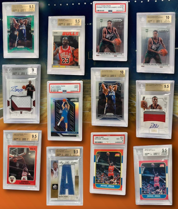 2021 Leaf Greatest Hits Basketball Cards 1