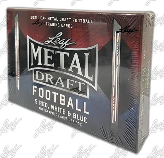 2021 Leaf Metal Draft Football Cards 7
