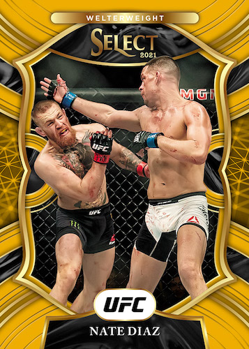 2021 Panini Select UFC MMA Cards - Checklist Added 3