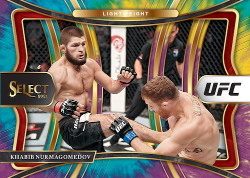 2021 Panini Select UFC MMA Cards - Checklist Added 4