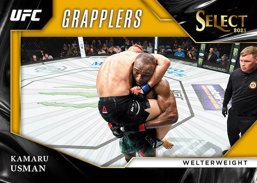 2021 Panini Select UFC MMA Cards - Checklist Added 7