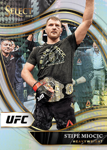 2021 Panini Select UFC MMA Cards - Checklist Added 5