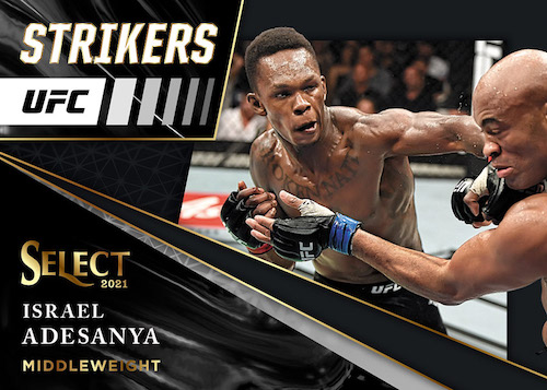 2021 Panini Select UFC MMA Cards - Checklist Added 8