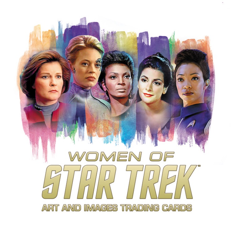 2021 Rittenhouse Women of Star Trek Art & Images Trading Cards 1