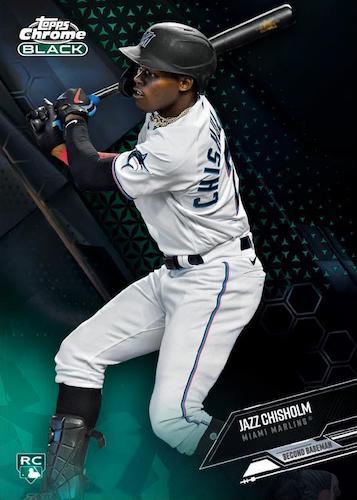 2021 Topps Chrome Black Baseball Cards 1