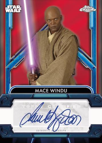2021 Topps Chrome Star Wars Legacy Trading Cards 3