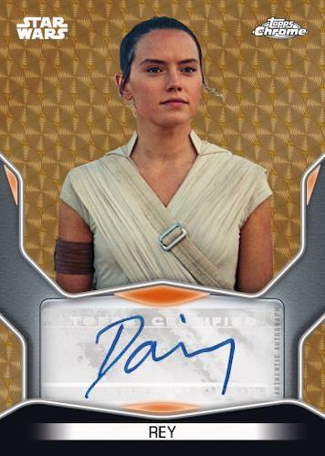 2021 Topps Chrome Star Wars Legacy Trading Cards 4