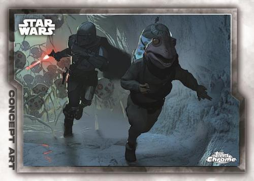 2021 Topps Chrome Star Wars Legacy Trading Cards 2