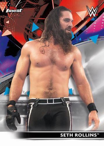 2021 Topps Finest WWE Wrestling Cards 1