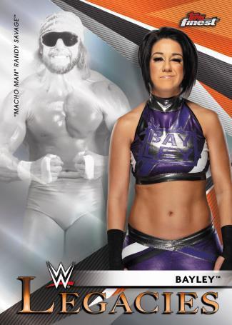 2021 Topps Finest WWE Wrestling Cards 2