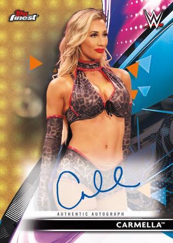 2021 Topps Finest WWE Wrestling Cards 6