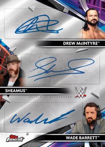 2021 Topps Finest WWE Wrestling Cards 7