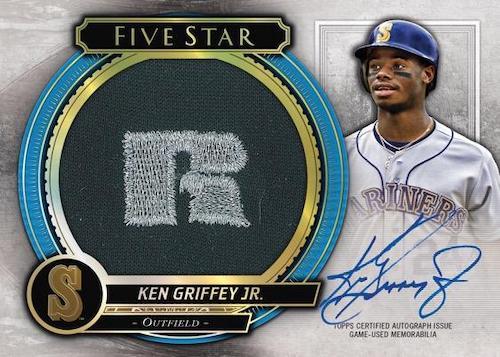 2021 Topps Five Star Baseball Cards 8