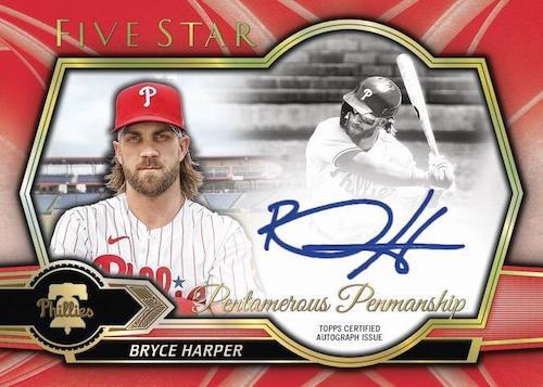 2021 Topps Five Star Baseball Cards 4