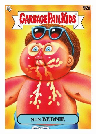 2021 Topps Garbage Pail Kids GPK Goes on Vacation Series 2 Cards 1