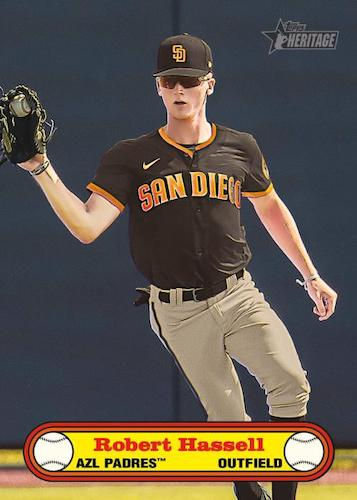 2021 Topps Heritage Minor League Baseball Cards 7