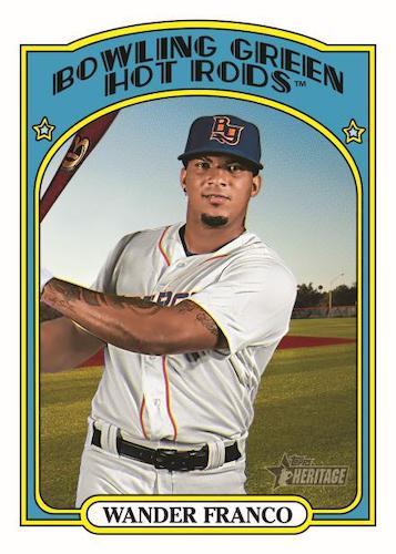 2021 Topps Heritage Minor League Baseball Cards 3