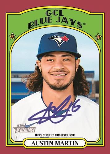 2021 Topps Heritage Minor League Baseball Cards 6