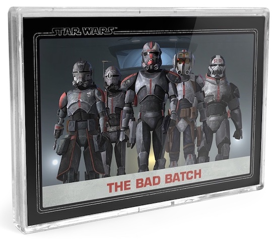2021 Topps Star Wars Bad Batch Exclusive Trading Cards 1