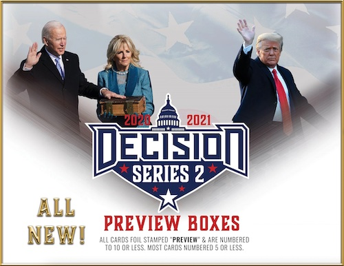 Decision 2020 Series 2 Political Trading Cards 8
