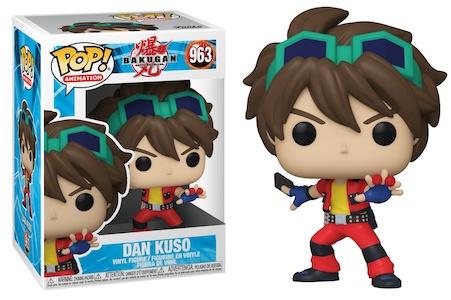 Funko Pop Bakugan Figures 1