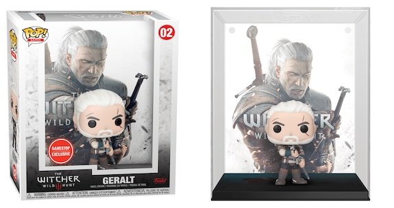 Funko Pop Game Covers Figures 2