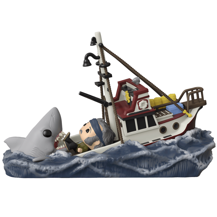 Funko Pop BLOODY VARIANT #758 JAWS GREAT WHITE SHARK TARGET --- IN STOCK