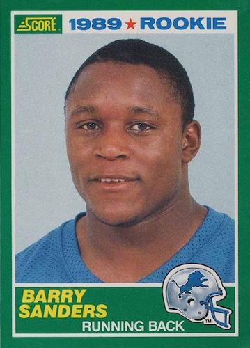 1989 Score Football Cards 3