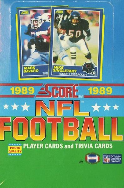 1989 Score Football Cards 5