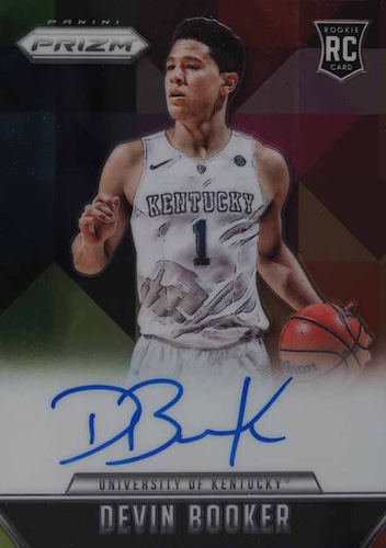 Top Devin Booker Rookie Cards to Collect 12