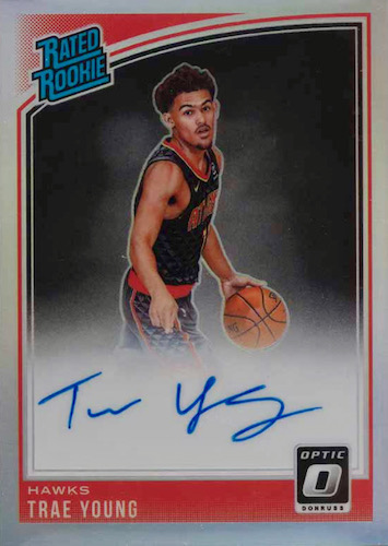 Top Trae Young Rookie Cards to Collect 10