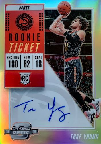 Top Trae Young Rookie Cards to Collect 13