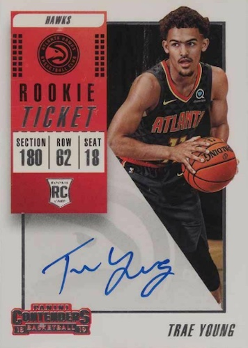 Top Trae Young Rookie Cards to Collect 11