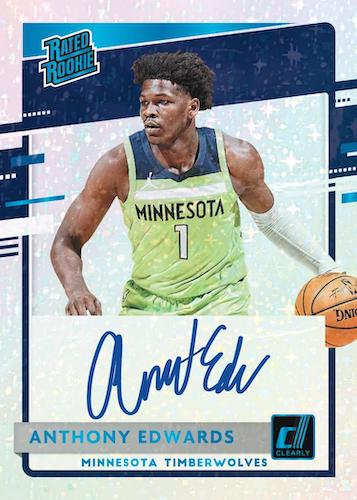2020-21 Clearly Donruss Basketball Cards - Checklist Added 8